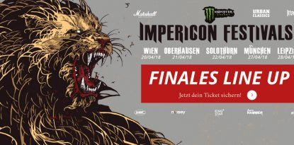 Impericon Festivals 2018 finales Lineup