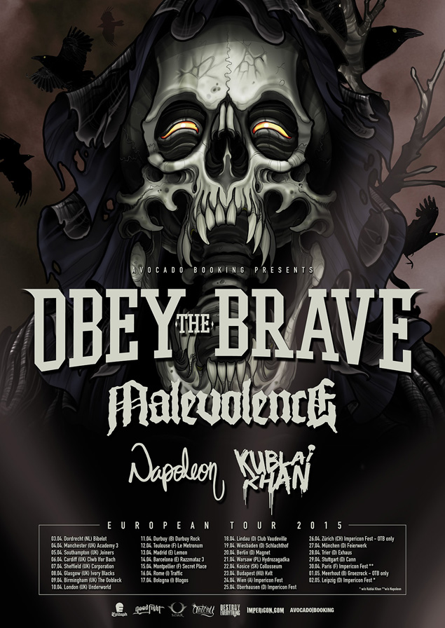 Obey The Brave Tour