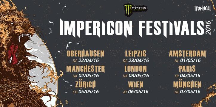 Impericon Festivals 2016 dates