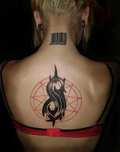 Can we take a moment to appreciate these 6 epic slipknot for Tattoos slipknot logo