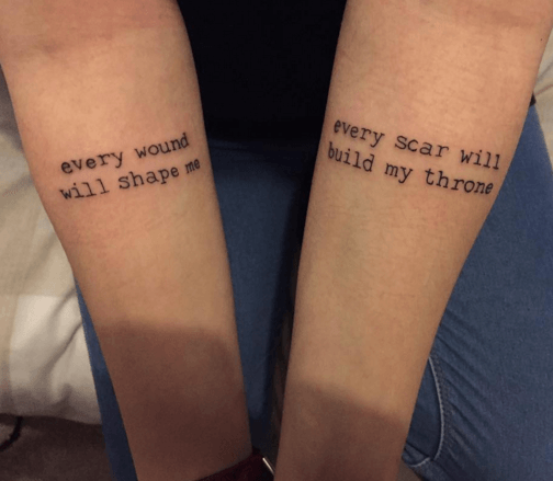 Call Yourself A Bring Me The Horizon Fan Is Your Tattoo