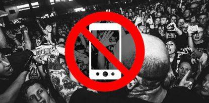Phone free zone