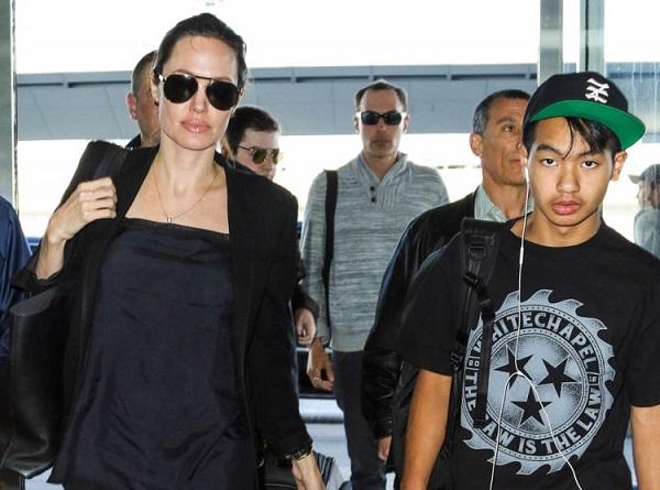 Maddox, Le fils De Brad Pitt et Angelina Jolie Est Un Fan ... анджелина джоли википедия