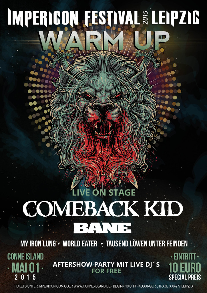 Impericon Festivals Warm Up Party