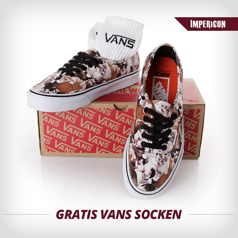 Vans X ASPCA Der perfekte Schuh für Katzen Nerds