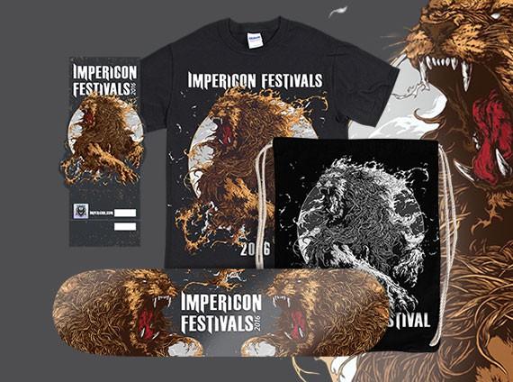 Impericon Festivals Merch
