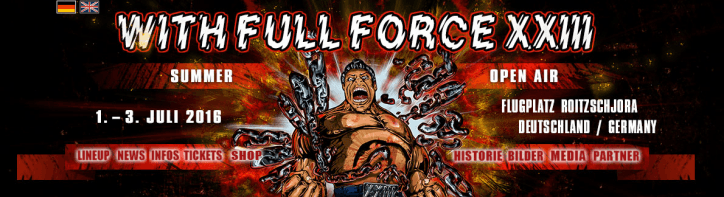 With Full Force Running Order