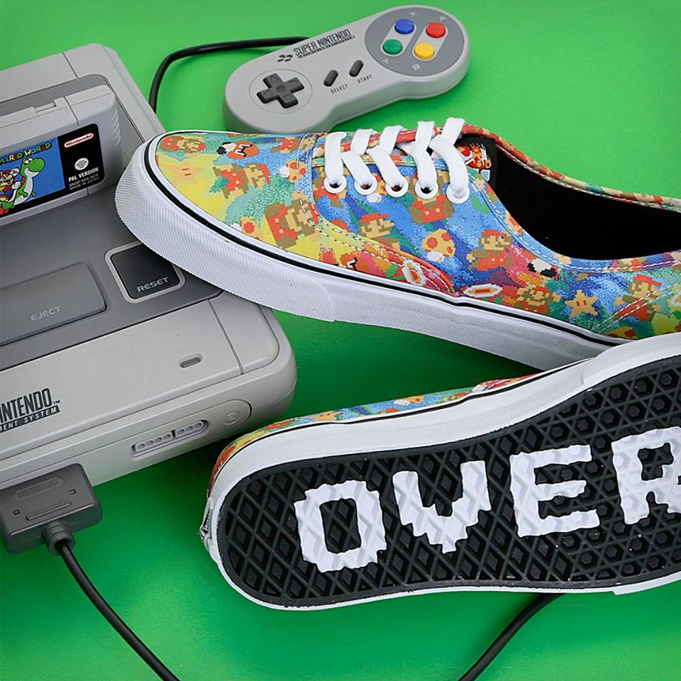 Vans Nintendo Game Over