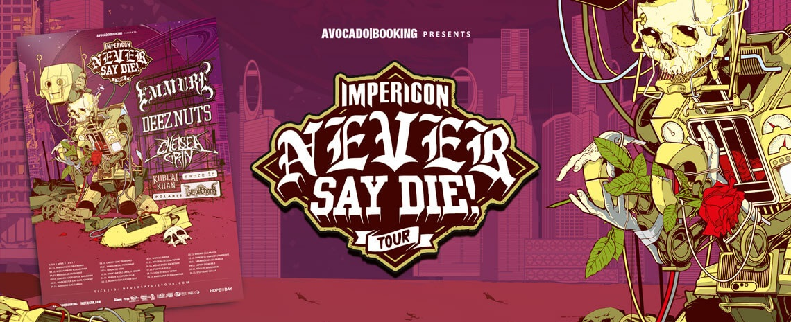 Never Say Die! Tour Tickets
