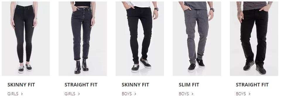 b0a68556e28b Jeans Guide: Wie finde ich die perfekte Größe + den besten Schnitt ...