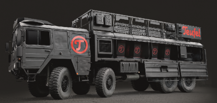 Impericon Festival Teufel Truck