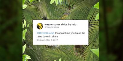 Weezer Africa Toto