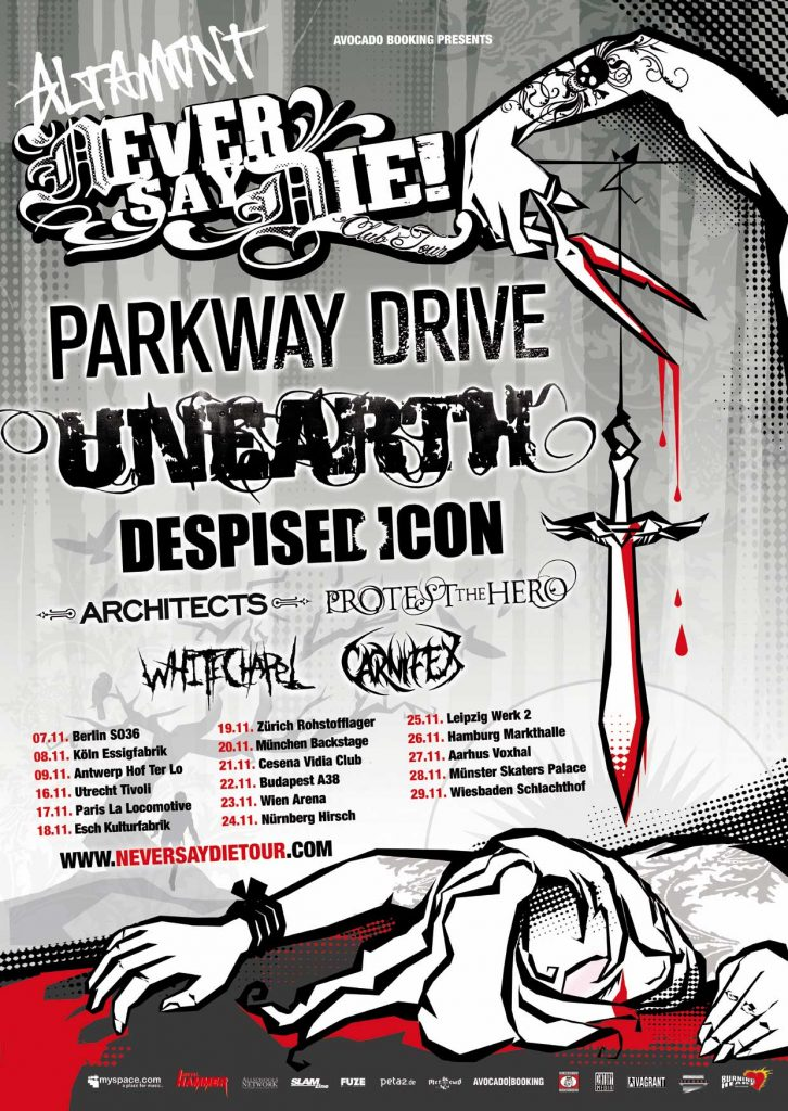 Never Say Die! Tour 2008