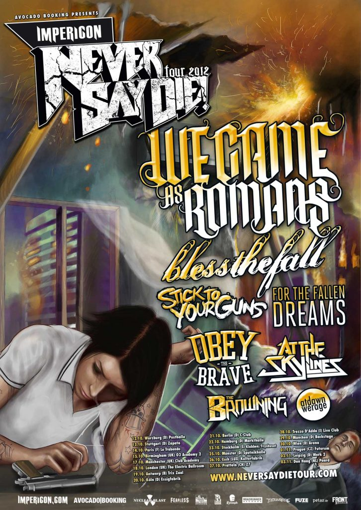Never Say Die! Tour 2012