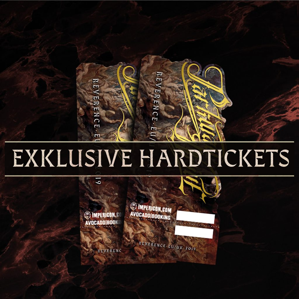 Hardtickets Reverence Tour Parkway Drive