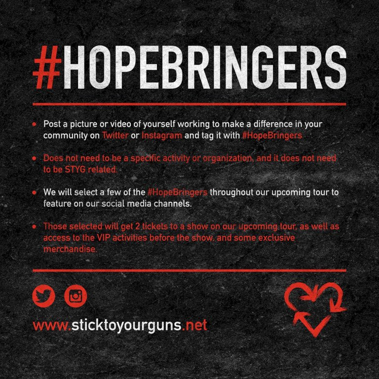 Stick To Your Guns Hopebringers