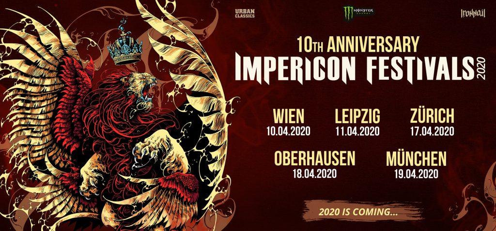Impericon Festivals 2020 die Dates