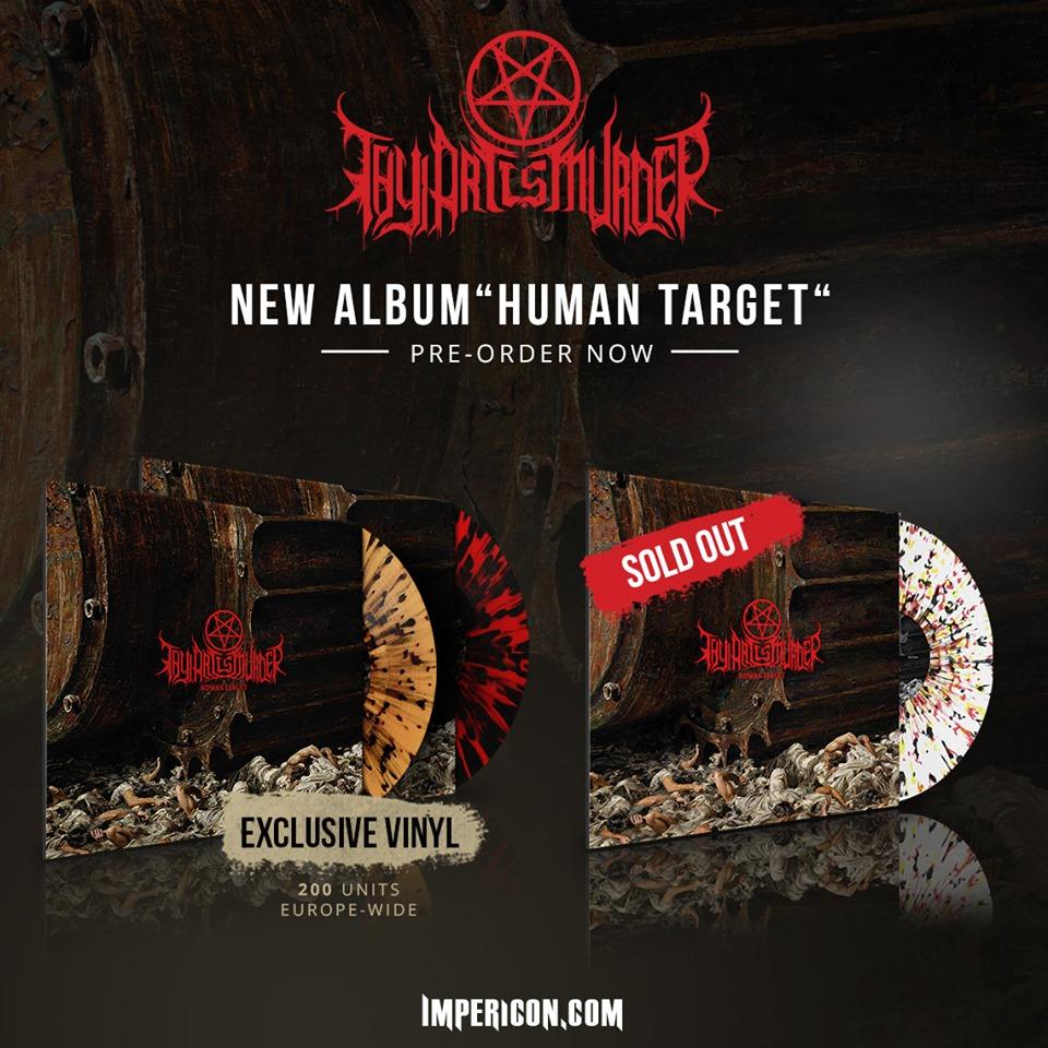 Das Album HUMAN TARGET könnt ihr hier vorbstellen.