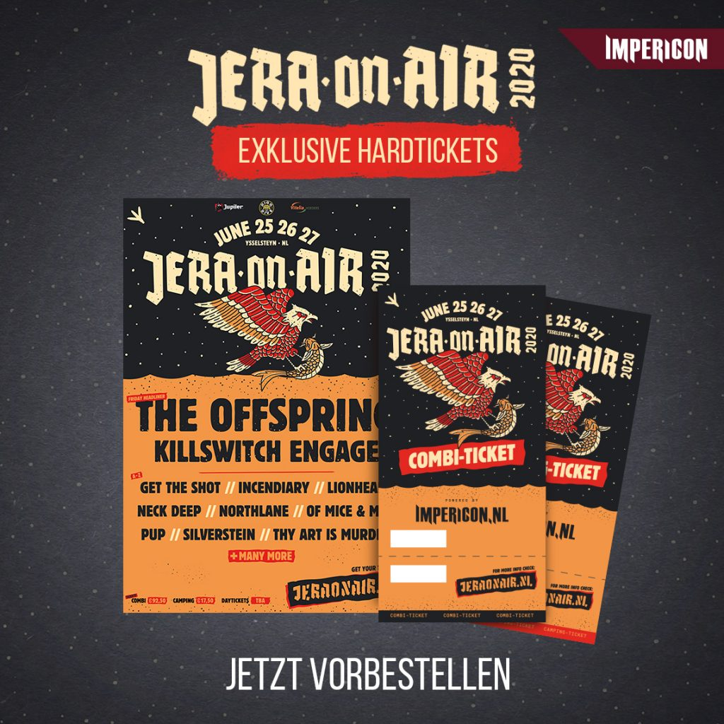 Jera On Air Hardtickets