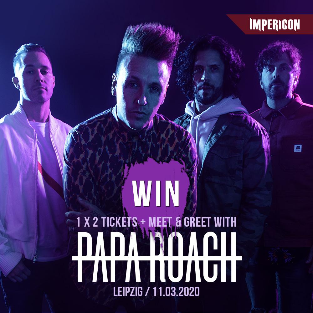 Papa Roach Gewinnspiel