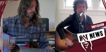 Dave Grohl Billie Joe Armstrong Wohnzimmer