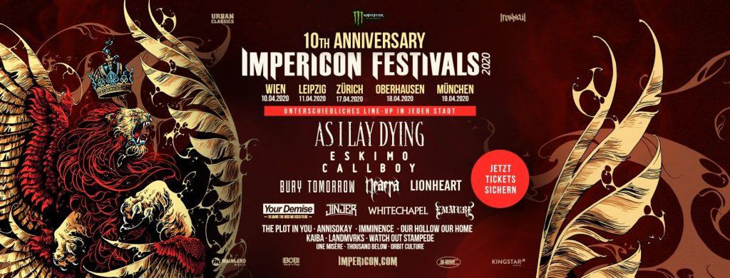 Impericon Festivals 10 Jahre