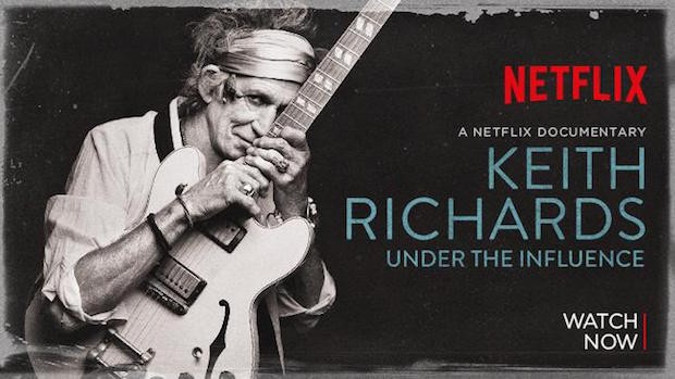 Netflix Keith Richards Musik-Dokus