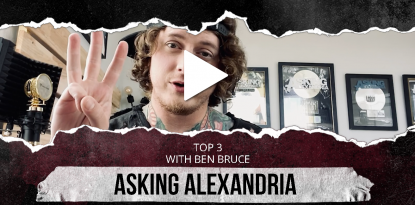 Asking Alexandria Top Three Interview