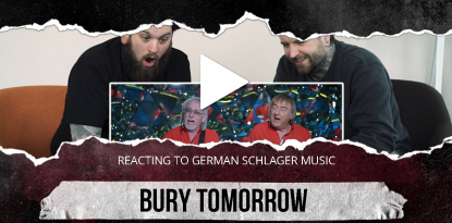 reaction video bury tomorrow deutsche schlager