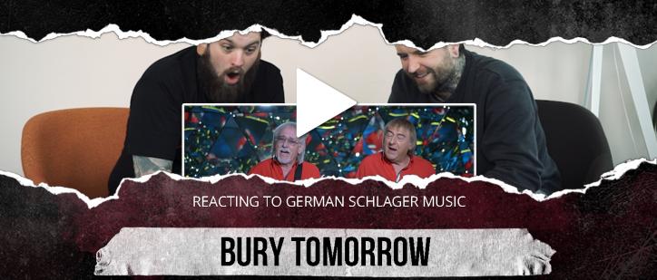 reaction video bury tomorrow deutsche schlager
