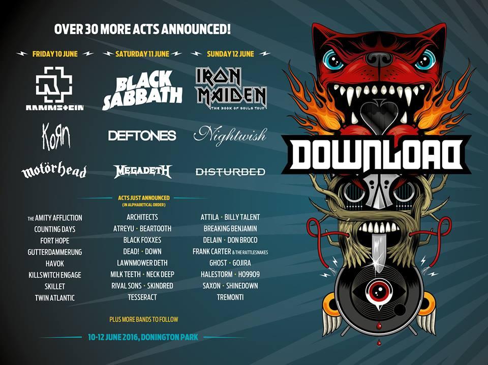 Download Festival Confirms 30 More Bands - Impericon Magazine
