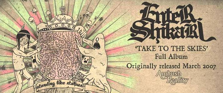 Enter Shikari TAKE TO THE SKIES