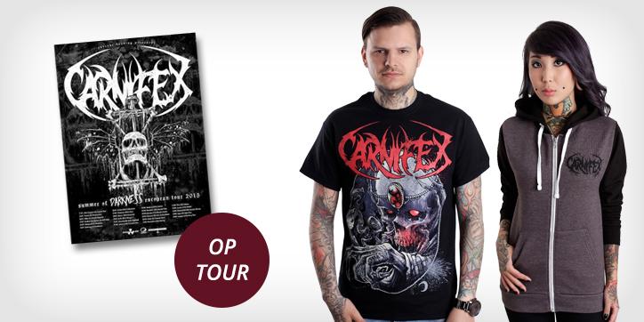 Carnifex - Tour 2015