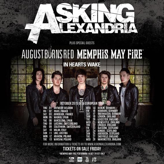 Asking Alexandria Tour 2015