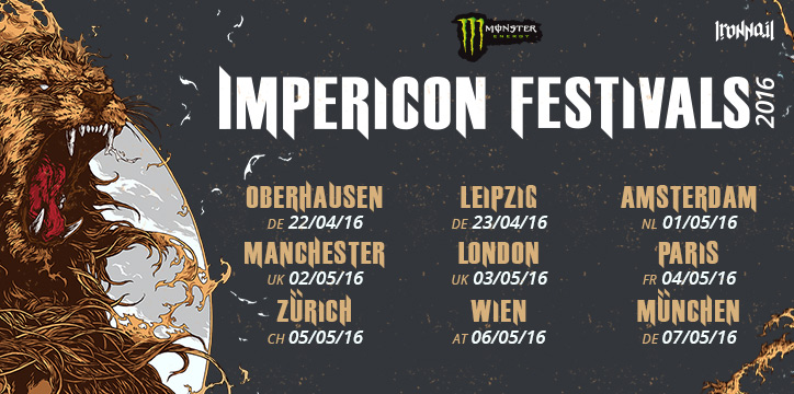 Impericon Festivals Cities