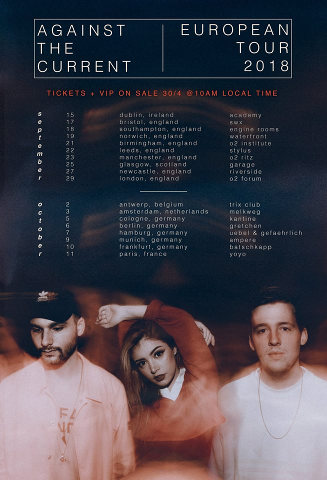 Against The Current Tour 2018